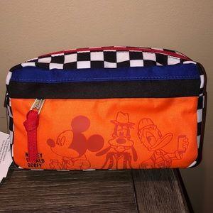 Disney checkered Mickey, Donald& Goofy fanny pack